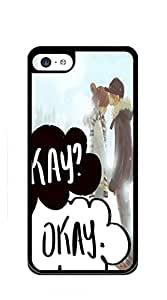TUTU158600 Hard Case Back Custom PC iphone 5c case for men - fault in our stars in hand