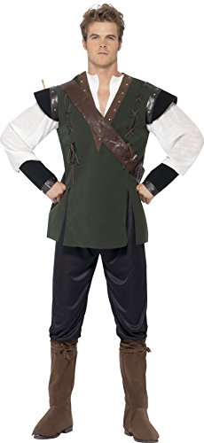 Smiffy's Men's Robin Hood Costume Trousers