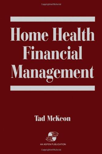 Home Health Financial Management by Brand: Jones Bartlett Learning