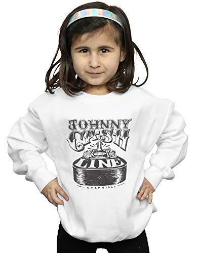 Absolute Fille Cult Johnny Guitar Blanc Cash Nashville shirt Sweat qq7Uw1O