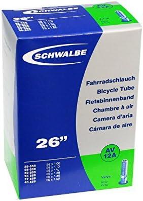 Schwalbe 26 x 1-1.5 Inner Tube Schrader AV12A