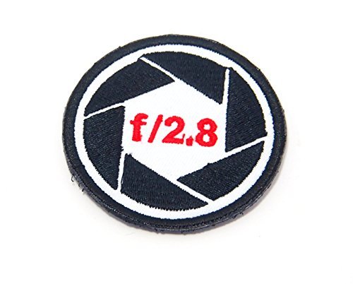 AstroG@ P8 Photographer Canon Nikon Lens F2.8 Camera Morale Patch Hook Backing