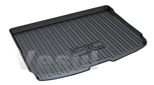 Vesul Rubber Rear Trunk Cover Cargo Liner Trunk Tray Carpet Floor Mat Compatible with Mitsubishi Eclipse Cross 2018 2019 - Mitsubishi Eclipse Trunks