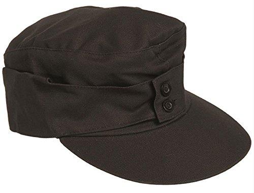 Mil-Tec M43 Moleskin Mountain Cap (Black, XL)