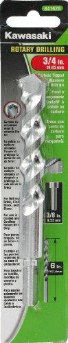 Kawasaki 841628 3/4-Inch Rotary Fast Spiral Masonry Drill Bit