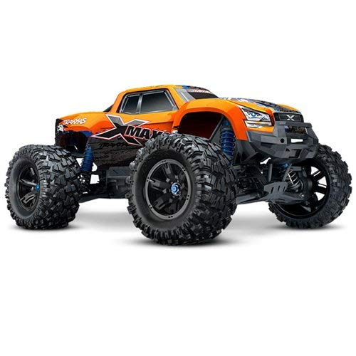 Traxxas X-Maxx 1/6 RTR Electric Monster Truck w/VXL-8s, TSM, Orange, TRA77086-4