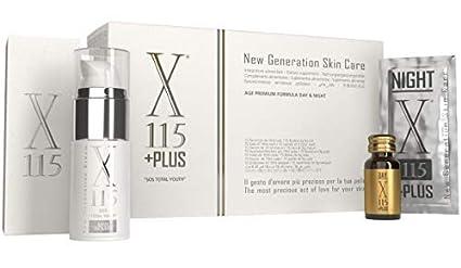 X115® + Plus - Suplemento para la Piel - Antienvejecimiento - Colágeno Marino Puro,