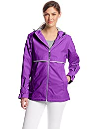 Amazon.com: Purples - Trench, Rain & Anoraks / Coats, Jackets ...