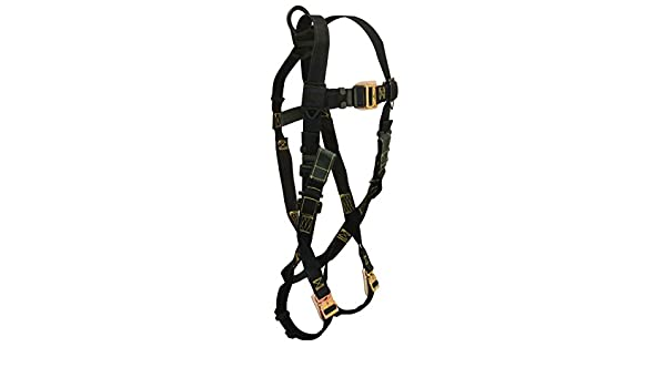 Chest Rescue Loops Coated MB Nomex//Kevlar FBH-1 Back D-Ring Small Black Belt with Leather Insulators FallTech 8076RS Arc Flash QC Legs