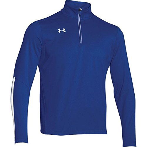 Under Armour Qualifier 1/4 Zip Top (Royal/White)