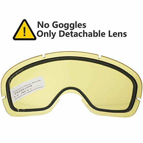 interchangeable ski goggles  Ski Goggle with Interchangeable Lens: Amazon.com