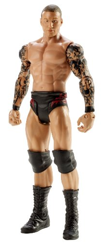 [WWE Wrestling Basic Signature Series 1 Action Figure Randy Orton] (Randy Orton Costume)