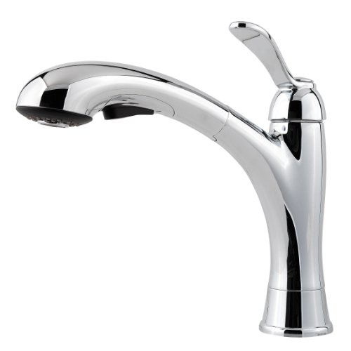 Clairmont Kitchen Pull-Out Faucet Finish: Polished Chrome