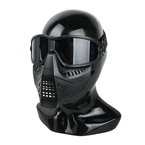 /Gafas de esqu/í con Desmontable m/áscara para Airsoft Paintball milsim/ /Negro TMC ANSI z87.1/Impacto Nominal/