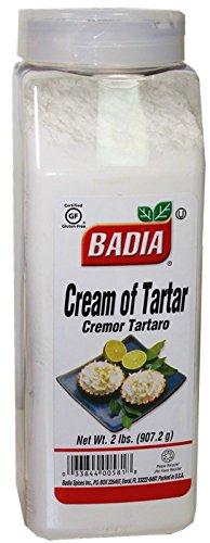 Cream of Tartar by Badia. 2 lb dispenser container
