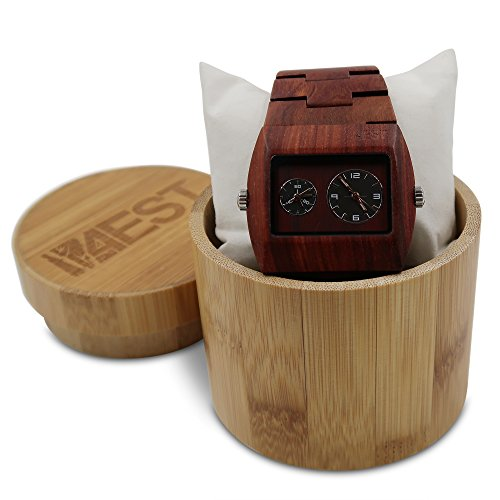 Edition Wood Limited (Real Wood Watch from 4EST Shades - Premium wristwatch Handmade with Sustainability in mind to look Good & Last!)