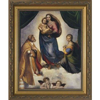 Religious Supply Sistine Madonna (Madonna Like An Angel Passing Through My Room)