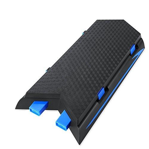 Soporte-vertical-con-doble-ventilador-de-refrigeracin-y-la-estacin-de-carga-para-PS4-12-asientos-discos-de-juego-8-casquillos-dominantes-protector-Thumbsticks-Grips