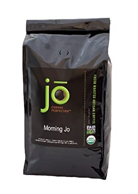 MORNING JO: 2 lb, Organic Breakfast Blend Ground Coffee, Medium Roast, Fair Trade Certified, USDA Certified Organic, NON-GMO, 100% Arabica Coffee, Gourmet Coffee from the Jo Coffee Collection