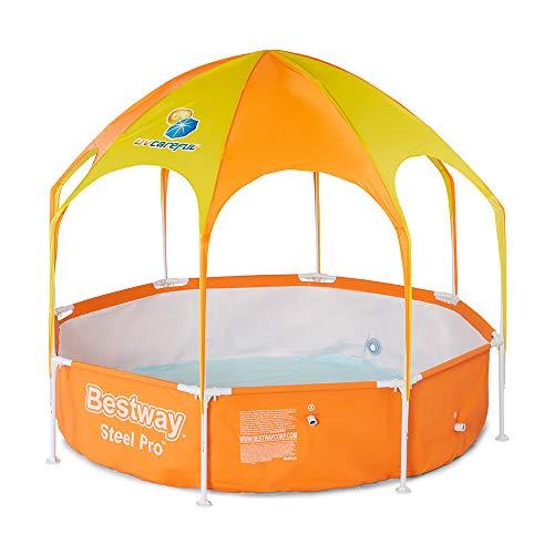 H2OGO! Splash-in-Shade Play Pool Orange