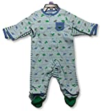 Little Me Baby 2 Pack Footies, Dinosaurs, 3 Month