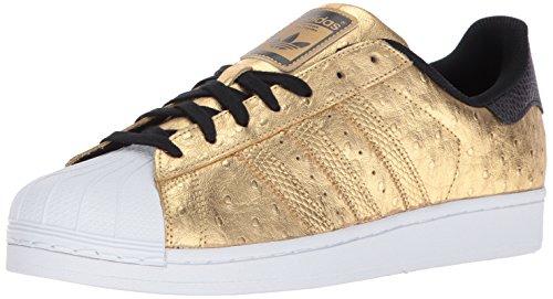 Men Gold Shoes (adidas Originals Men's Shoes | Superstar, Goldmt/Goldmt/Ftwwht, (12 M US))