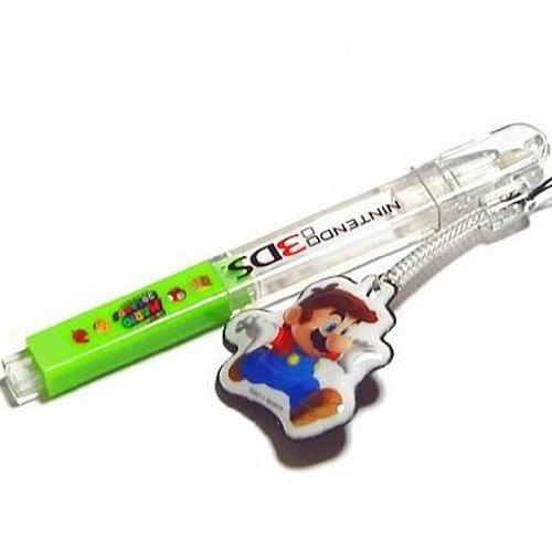Chibi Mini Mario - Super Mario 3D Land Character Mascot Touch Pen Stylus Tomy DS 3DS DSi Lite XL ()