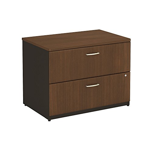 Bush Business Furniture Series A 36W 2Dwr Lateral File in Sienna Walnut
