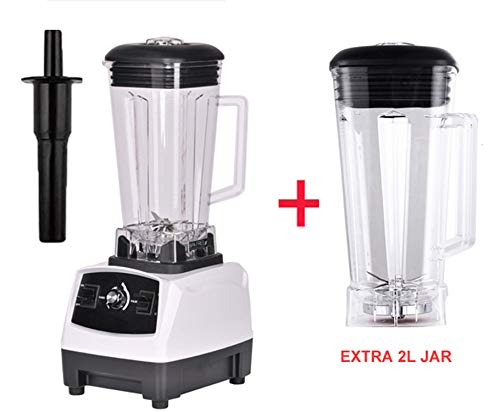 2200W BPA FREE 3HP 2L G5200 high power commercial home professional smoothies power blender food mixer juicer fruit processor,WHITE EXTRA 2L JUG (Best Mixer Juicer Grinder In India 2019)