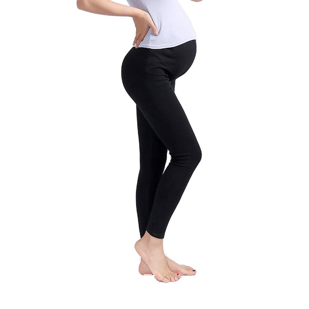mama stadt Umstandsmode Hose schwarz Leder PU Umstandsleggings Thermo Schwangerschaftshose Baumwolle Umstandsmode Leggings Skinny Stretch