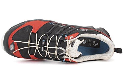 Hommes En Plein Air Adidas Terrex Rapide R Gtx Noir / Blanc / Craie Chaussures De Randonnée Gras Orange - 9 D (m) Nous