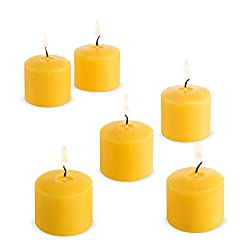 Votive Citronella Candles Yellow - 10 Hours - Set of 12 (holders not included)