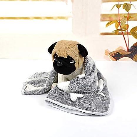 Boern Cama Cojín Manta Perro Esterilla Suave Mascota Perro ...