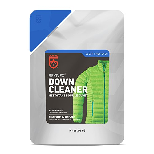 Gear Aid Revivex Down Cleaner for Jackets and Sleeping Bags, 10 fl oz wash - Mcnett Revivex Water Repellent