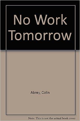 amazon no work tomorrow colin abrey 洋書