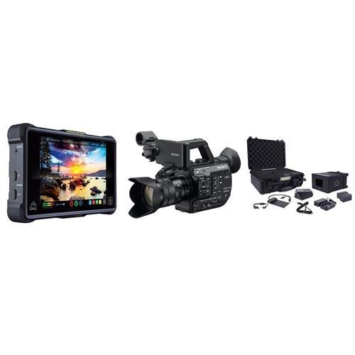 (Sony FS5 II ProRes RAW Atomos Kit Lens)