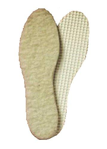 Christie - plantillas de lana de cordero de la suela de lana de cordero tamaño 22 hasta 48