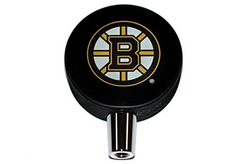 Boston Bruins Basic Logo Hockey NHL Puck Beer Tap Handle Nhl Beer