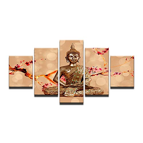 40x60 40x80 40x100cm No Frame New  Abstract Printed Buddhism Buddha Painting Picture Decor Buda Canvas Art for Bedroom Framed