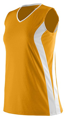 Augusta Sportswear Ladies' Triumph Sleeveless V-Neck Jersey XL ()