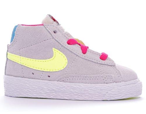 Nike 549551-009 - Zapatillas de deporte de piel para niño
