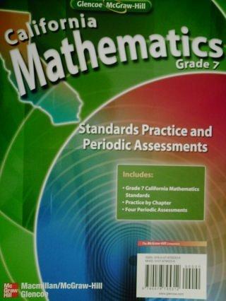 California Mathematics Grade 7 Standards Practice and Periodic Assessments (California Mathematics Grade 7)