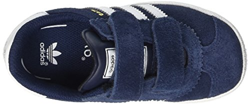 adidas Gazelle 2 CF I - Zapatillas Unisex Azul marino / Blanco