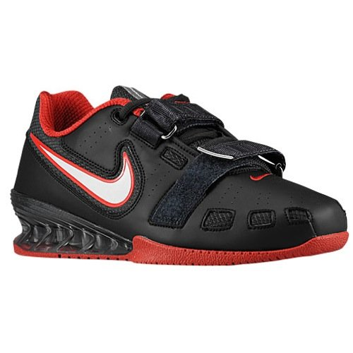 NIKE Romaleos 2 Power Lifting Shoes - Black/White/Anthracite/Red (8)