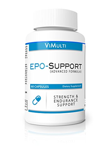 Increase Epo Supplement- Boost Epo and Increase V02MAX-Vimulti Natural EPO Pills Reduce Lactic Acid- Best Cycling Supplement & Natural EPO Booster For Runners. Stop Getting Dropped.