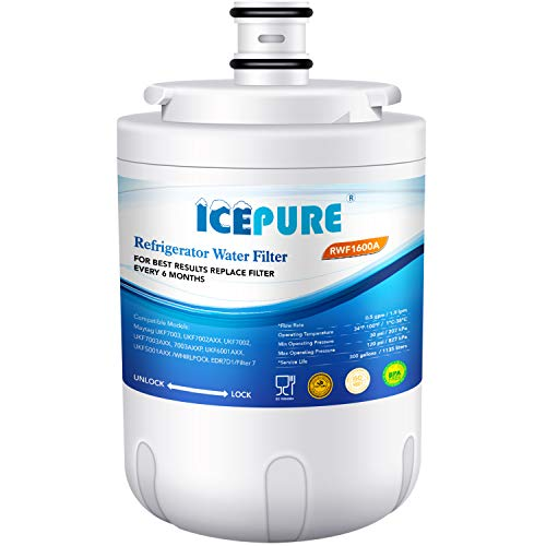 Price comparison product image Icepure RWF1600A Compatible With Maytag UKF7003, WHIRLPOOL EDR7D1,  Filter 7,  Refrigerator Water Filterr 1PACK
