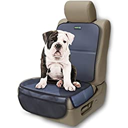 Car Seat Protector 2017 Model by Drive Auto Products - New Base Plates Offer Best Protection for Child & Baby Cars Seats - Extra Wide Side Flaps, Ultimate Cover Pad Protects Automotive Upholstery