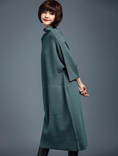 MatchLife - Jerséi - para mujer Style7-Dark Green(Fit UK 4-14)