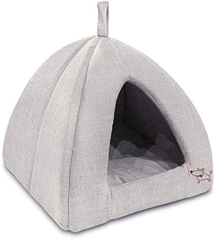 Quiet Time Overstuffed Cuddle Bed for Cats Dogs
