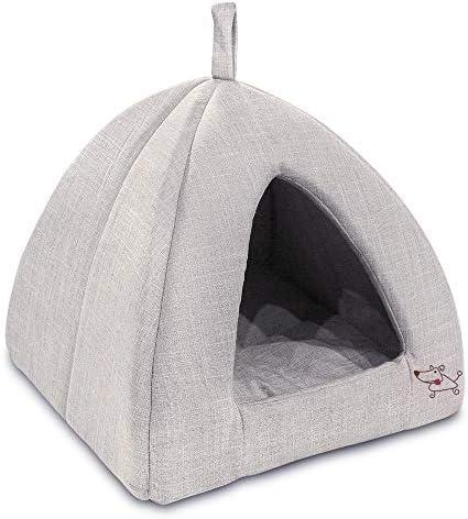 Best Pet Supplies Corduroy Tent Bed for Pets